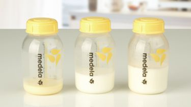 Breast milk composition bottles