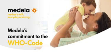 Medela's commitment to the WHO-Code